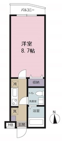 ピアコートTM東伏見弐番館2階Fの間取り画像