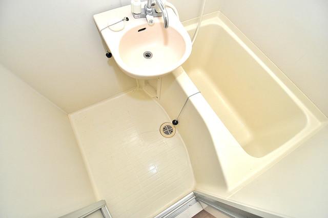 ウィダーホール23 単身さんにちょうどいいサイズのバスルーム。