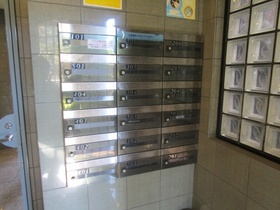 プライバシーに配慮したメールボックス。