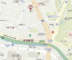 神谷町駅 徒歩9分案内図