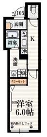 八幡山駅 徒歩5分1階Fの間取り画像