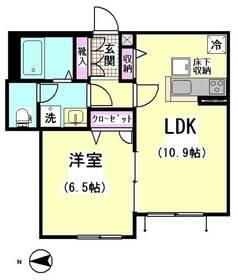 ディアコートU 101号室