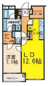パークシティ浜田山 E棟3階Fの間取り画像