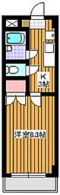 ロッソパステロ3階Fの間取り画像