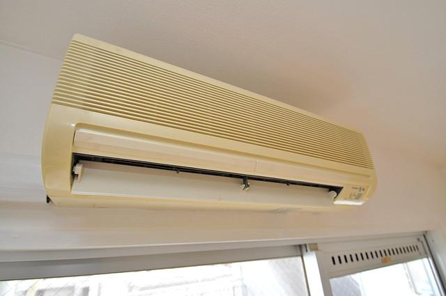 大宝菱屋西ロイヤルハイツ エアコンが最初からついているなんて、本当にうれしい限りです。