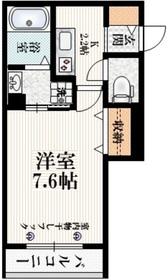 阿佐ヶ谷駅 徒歩5分3階Fの間取り画像