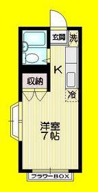 立川南駅 徒歩11分2階Fの間取り画像