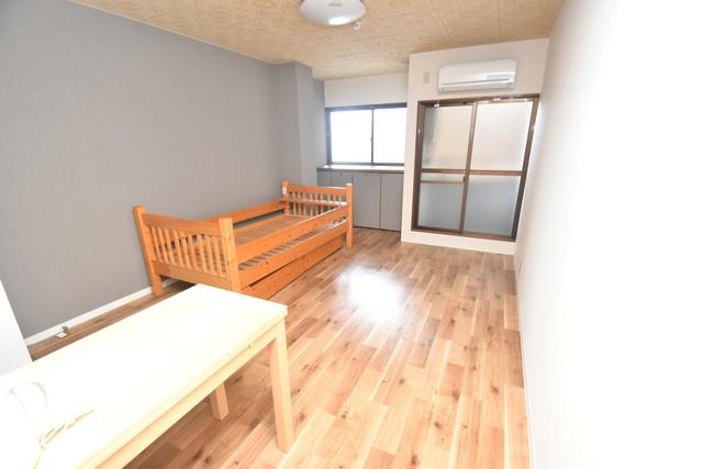 荻田第6ビル 解放感たっぷりで陽当たりもとても良いそんな贅沢なお部屋です。