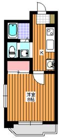 ル・モンテ和光3階Fの間取り画像