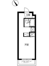スカイコート千歳烏山第53階Fの間取り画像