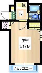APPLE KOMABA3階Fの間取り画像