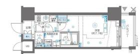 ZOOM川崎second10階Fの間取り画像