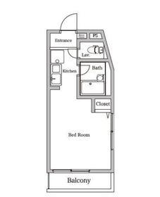 ウィンダンシー三春台1階Fの間取り画像