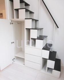 階段に収納スペース☆彡