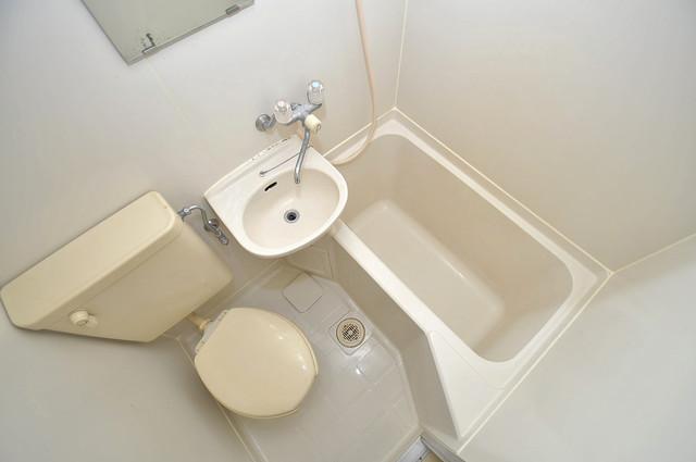 サンフォレスト布施 シャワー一つで水回りが掃除できて楽チンです