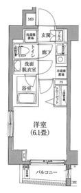 アイル横浜ノース5階Fの間取り画像