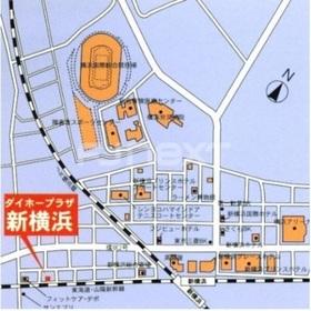 ダイホープラザ新横浜案内図