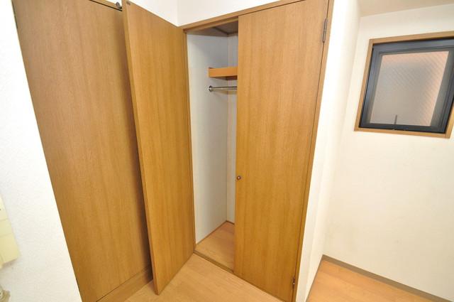 ルビダクォ荒本 コンパクトながら収納スペースもちゃんとありますよ。