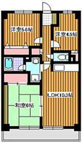 地下鉄成増駅 徒歩2分1階Fの間取り画像