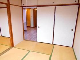 玄関から見て左側の和室
