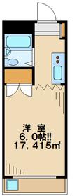 ジュネス田口4階Fの間取り画像