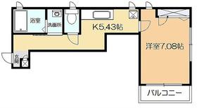 ウィルズハウス2階Fの間取り画像