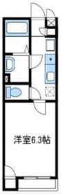 レオネクストボナールジョイ1階Fの間取り画像