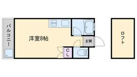プチメゾン荒江3階Fの間取り画像