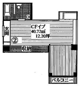 アリスマナーガーデン浅草橋4階Fの間取り画像