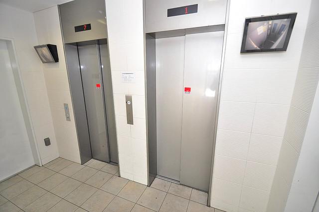 Gransisu Takaida エレベーター付き。これで重たい荷物があっても安心ですね。