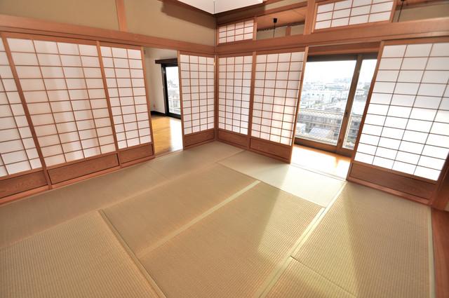 アドバンス渋川 ペントハウス もうひとつのくつろぎの空間、和室も忘れてません。