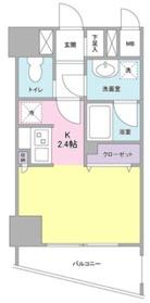 ディアレンス横濱沢渡3階Fの間取り画像