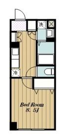 愛甲石田駅 車8分3.2キロ6階Fの間取り画像
