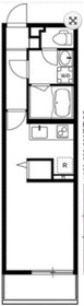 リブリ・Tsurugamine2階Fの間取り画像