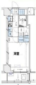 グランリーヴェル横濱大通り公園1階Fの間取り画像