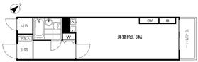 ライオンズマンション浅草駅前5階Fの間取り画像