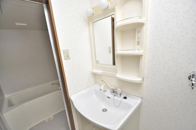 ハイムタケダT-11 人気の独立洗面所はゆったりと余裕のある広さです。