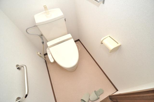 サンパティーク・メゾン 清潔感たっぷりのトイレです。入るとホッとする、そんな空間。