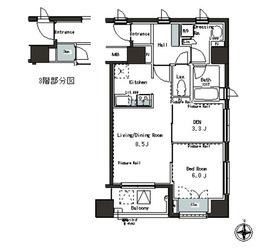 パークアクシス本郷の杜3階Fの間取り画像