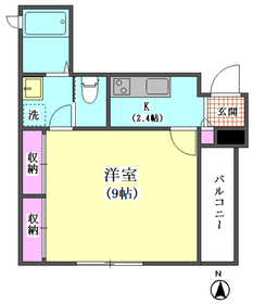 カーサ東大井 K 301号室