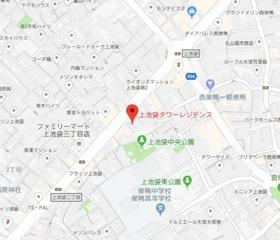 板橋駅 徒歩14分案内図
