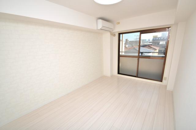 サンパレス布施 朝には心地よい光が差し込む、このお部屋でお休みください。