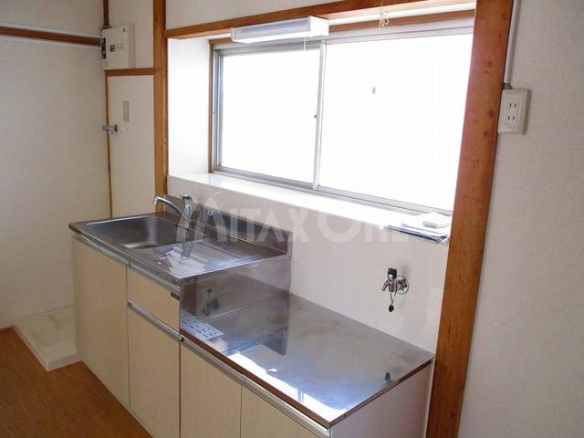 芦川貸家キッチン