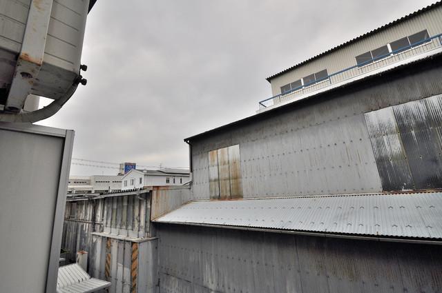 スパジオビィータ バルコニーは眺めが良く、風通しも良い。癒される空間ですね。