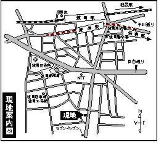 メゾン・ル・ベリエ案内図