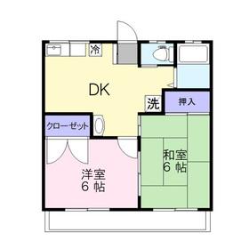 アグリパークK2階Fの間取り画像