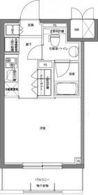 川崎駅 徒歩13分3階Fの間取り画像