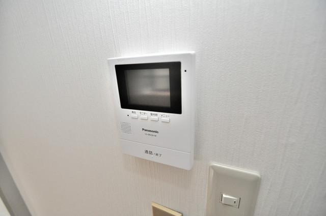 サンライフ若江東 TVモニターホンは必須ですね。扉は誰か確認してから開けて下さいね