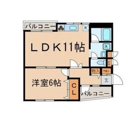 武蔵関駅 徒歩10分2階Fの間取り画像