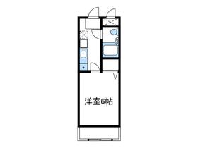 クリオ愛甲石田壱番館2階Fの間取り画像